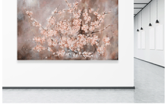 Blossom (HE Silver) Product Type: Original Art  Signature Included Certificate Of Authenticity Included Size: 60 x 40 Artist: Sara Brown Made in the USA $2000