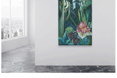 Night Blooms* Product Type: Original Art  Signature Included Certificate Of Authenticity Included Size: 40 x 60 Artist: Fern Cassidy Made in the USA $2000